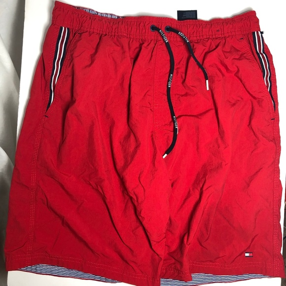 6fb2eaff Tommy Hilfiger Swim | Mens M Red Board Shorts Trunk | Poshmark